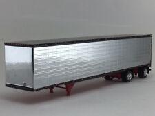 1/64 DCP CHROME 53' UTILITY 3000D SPREAD AXLE DRY VAN TRAILER