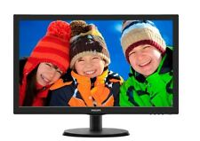 Philips 223V5LSB/00 21.5 inch LED Monitor - Full HD 1080p, 5ms Response, DVI