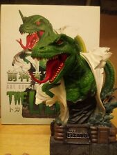 """Spider-Man """"The Lizard"""" Art Asylums Rogue Gallery Bust, From 2002 ( Has Flaw )"""