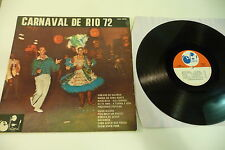 CARNAVAL DE RIO 72 . NATIONAL RECORDS FRENCH NAT 16150 LP.