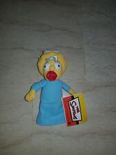Peluche Maggie Simpson 20 cm. Nuovo con etichetta