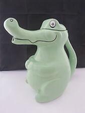 Vintage Carlton Ware Novelty Large Green Alligator Crocodile Teapot