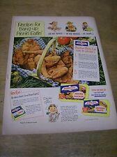 Original 1952 Birds Eye Frozen Chicken Magazine Ad - ...Picnic Eatin'