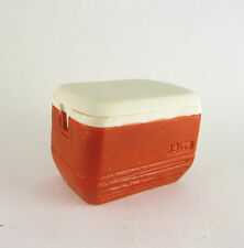 Dollhouse Miniature Red Camping Cooler, A3108RD