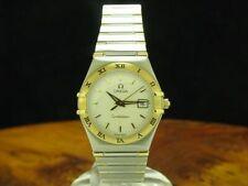 Omega Constellation 18kt 750 Gold/Stainless Steel Ladies Watch / Ref 795.1201