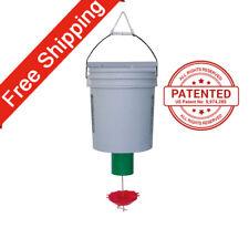Poultry Feeder - One Peckomatic Demand Bird Feeder Kit -  Free Shipping