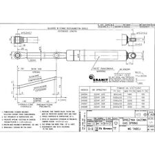 65402062 Stabilus Gasdruckfeder 250 mm Newton180