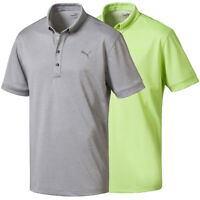PUMA Golf Men's Oxford Heather Polo Golf Shirt, Brand New
