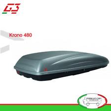 BOX BAULE PORTATUTTO PORTABAGAGLI TETTO AUTO G3 MOD. KRONO 480 (390 LT) - 22.205