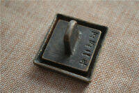 Chinese old copper Bronze Copper seal and box stamp