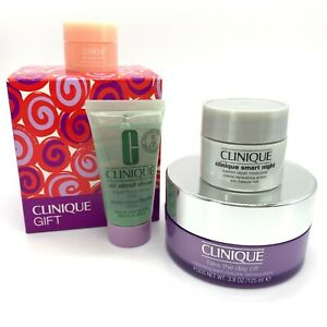 Clinique 4 Item Gift Set - New & Boxed - Full Size Take The Day Off Balm 125ml