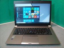 "Toshiba Portege Z30 Laptop 4th Gen i5 8GB 256SSD Backlit K/board B/tooth 13.3"""