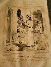 Litho 1843 - Civilisation Iles Marquises Jouissance des droits politiques