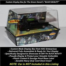 Custom Display Case for Aurora TJet #1384 Green Hornet's  'BLACK BEAUTY'