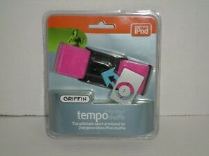 Griffin Tempo Ultimate Sport Armband Pink For IPod Shuffle 2nd Generation NEW