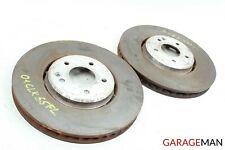 01-02 Mercedes W208 CLK55 AMG Front Right & Left Brake Rotor Disc Set OEM