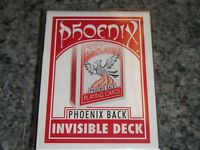 Phoenix Invisible Deck by Card-Shark - red - new