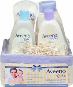 Aveeno Baby Bathtime Solutions Baby & Mommy Gift Set