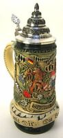 German Beer Stein - Bavarian