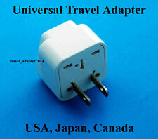 Universal to USA Canada Japan Travel Plug Adapter Converter UK USA EU AUS New
