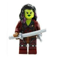 Gamora Minifigure Marvel Super Heroes Figure For Custom Lego Minifig  15