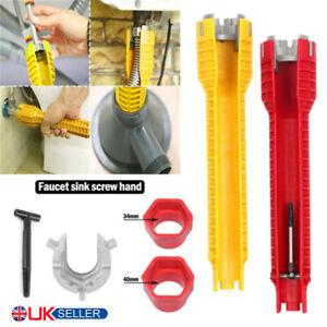 UK 8 in 1 Multifunction Faucet Sink Installer Wrench Plumbing Pipe Spanner Tool