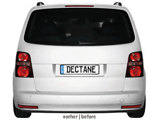Fanali posteriori LITEC LED VW Touran 2003+ red/crystal