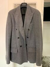 DOUBLE BREASTED DOLCE & GABBANA WOOL JACKET. SIZE 46 IT