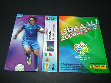 ALESSANDRO NESTA ITALIA PANINI CARD FOOTBALL GERMANY 2006 WM FIFA WORLD CUP