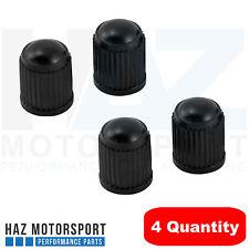 4 X Válvula De Aire De Polvo Tapas De Neumáticos Rueda para Bicicleta de Coche Cubiertas De Plástico Negro Nuevo & Moto
