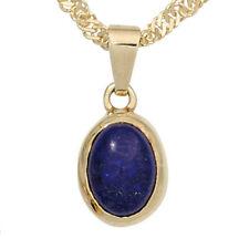 Halsketten und Anhänger aus Edelsteinen mit Lapis Lazuli Normal behandelter