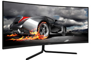 Brand New Factory Sealed VIOTEK GNV34CB 34-Inch Ultrawide Curved Gaming Monitor!