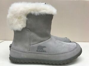Sorel Out N About Bootie Chrome Grey/Natural