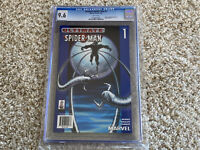 """2002 Ultimate Spider-Man #1 """"BLUE TARGET VARIANT EDITION"""" CGC Graded 9.6 NM+"""