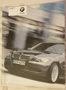 BMW Genuine OEM E90 Owners Manual Booklet