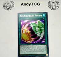 RELINGQUISHED FUSION - 1ST ED ULTRA RARE NM LED2-EN004 - YUGIOH