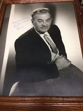 "Autograph Photo: Milburn Stone, inscribed to his cousin. Gunsmoke TV ""Doc Adams"""