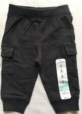 New! Jumping Beans Sweat Pants  Boys Size 6 Months Gray