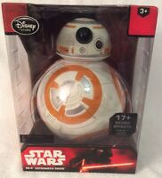 "DISNEY STORE STAR WARS FORCE AWAKENS BB-8 TALKING 9 1/2"" EXCLUSIVE FIGURE NEW BX"