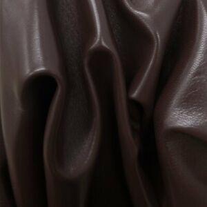 Coffee Bean Brown, Lambskin Hides, 5-7 Sq Ft, 2-2.5 oz