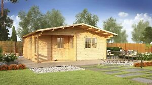 Summerhouse FAY 6x6m, 44mm / FREE delivery*