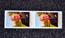 2017USA Forever - Father Ted Hesburgh - Coil Pair - Mint NH  priest
