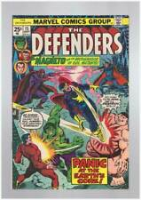 Defenders # 15  Panic at the Earth's Core !  grade 9.2 scarce book !