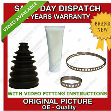 1x SEAT OUTER CV JOINT BOOT KIT CUT TO SIZE NEW