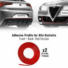 Profilo Rosso Adesivo per Dam Anteriore + Posteriore Alfa Romeo Giulietta