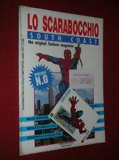 LO SCARABOCCHIO SOUTH COAST THE ORIGINAL FANFUSA MAGAZINE SPECIALE N° 0  BLISTER