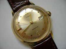 VINTAGE  WIND UP TIMEX  MARLIN DOT 1967 RUN AND KEEP TIME