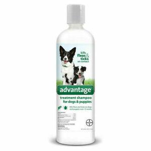 Advantage Treatment Shampoo for Dogs & Puppies, 24 fl oz