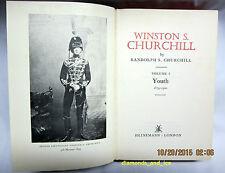 Winston S. Churchill. Volume 1. Youth 1874-1900 by Randolph S. Churchill (1966)