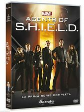 MARVEL AGENTS OF SHIELD  LA PRIMA SERIE COMPLETA COFANETTO 6 DVD